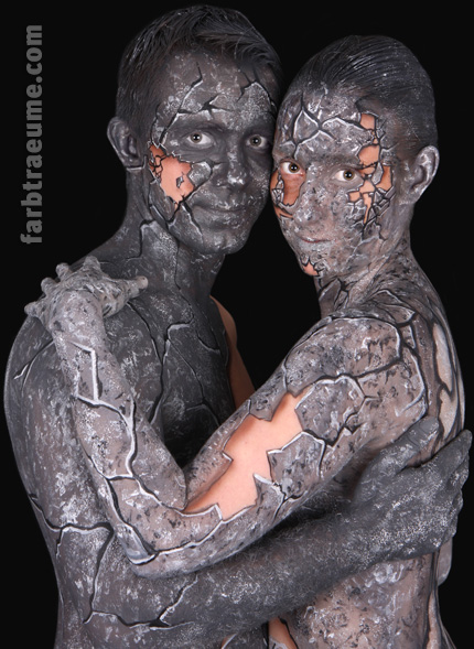 Aktuell im Bodypainting-Blog: Paar-Bodypainting