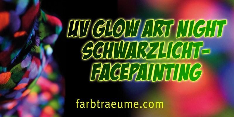 """""""Art Night"""" Schwarzlicht-Nacht in der Dankbar"""